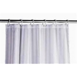 Shower Curtain with Plastic Hook