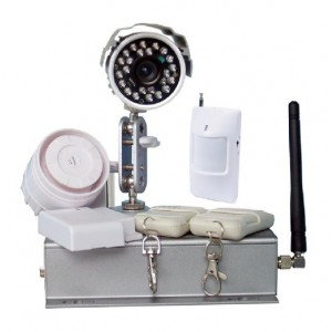 GSM MMS Alarm System with wired camera, WL1023