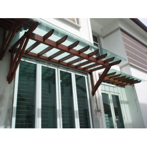 Tempered Glass Roofing
