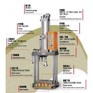 Gentle Air Press Machine