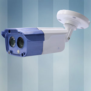 30m Color CCD The 3rd Array LED Dome CCTV Camera