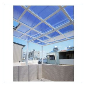 Polycarbonate  Shutter Twin-wall Sheet