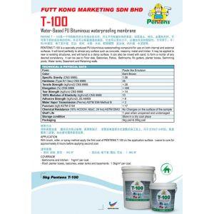 Water-Based PU Bituminous Waterproofing Membrane