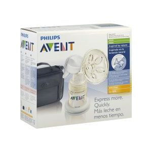 Avent Breast Pump, Manual, On-the-Go Set