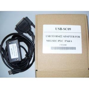 Mitsubishi FX/A Series programming cable SC-09 USB