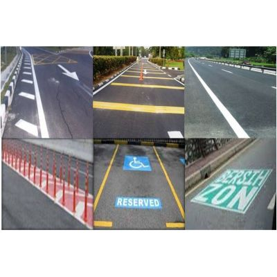 Thermoplastic Road Line Marking Paint