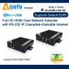 ACAFA HDMI over IP Chainable Extender with splitter+converter+RS232-MIT
