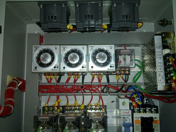 3zone vacuum leak test co<em></em>ntrol panel
