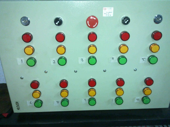 10zone vaccum leak tester panel2
