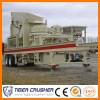 Hot Sales Stone Mobile Cone Crusher Plant/Portable Cone Crusher Supplies by Shanghai Tiger Crusher