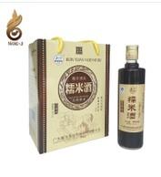 酿吉汤酒 黑糯米酒 甜酒酿丰胸月子米酒 黄酒 自酿客家特产