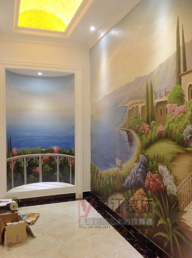 哪里有专门做酒店背景画博物馆墙绘幼儿园儿童乐园彩绘的机构