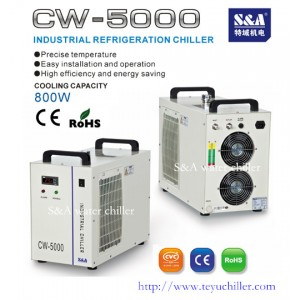 Industrial water chiller S&A CW-5000 supplier