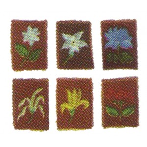 Tunas Embroidery Group Flower