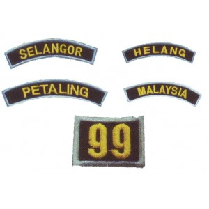 Pengakap Embroidery Shoulder Badge