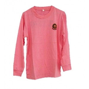 Puteri Islam Round Neck T-Shirt Light Pink (CL)