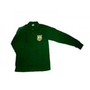 Tunas Kadet Remaja Sekolah Collar T-Shirt Long Sleeve