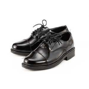 Tunas Kadet Remaja Sekolah Leather Black Shoes