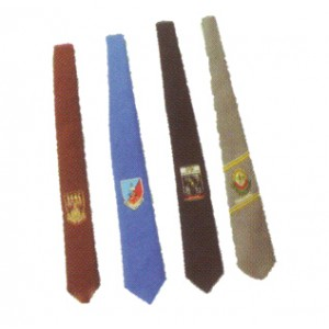 Neck Tie With Embroidery