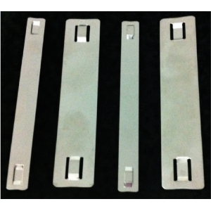 STAINLESS STEEL LABEL STRIPS