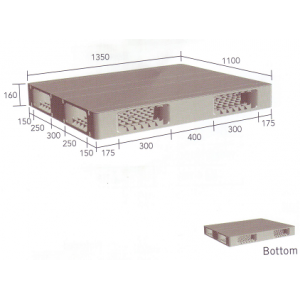 Heavy Duty Pallets H1350R4-2A | H1350R4-2L