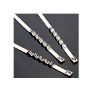 STAINLESS STEEL SPRING CABLE TIES ( BALL LOCK TYPE ) AISI. 304 & 316