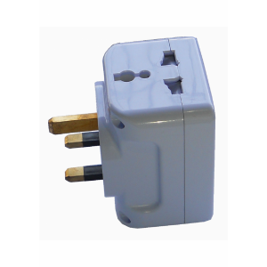 3 WAY 3 PIN MULTI ADAPTOR