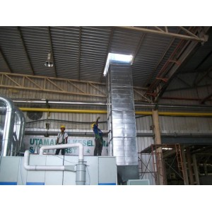 ENTER CONTRACT - INSTALLATION DUCT COLLECTOR SYSTEM