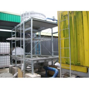 INSTALLATION COOLING TOWER