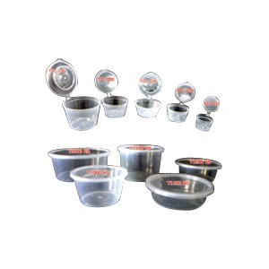 Microwavable Thin - Wall Round PP Container And Lid