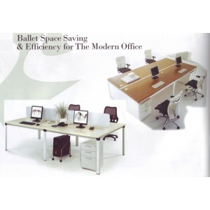 Ballet Space Saving & Efficiency for The Modern Office Furniture