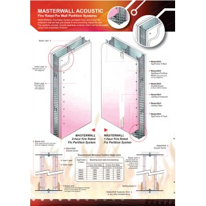 Masterwall Fire Rated Fix Wall Partition System