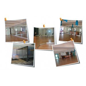 Masterwall Movable Glass Partition