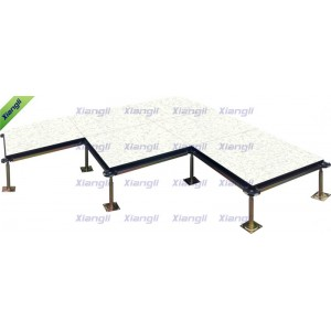FS800 Anti-static Calcium Sulphate Raised Access Floor With Various Tile