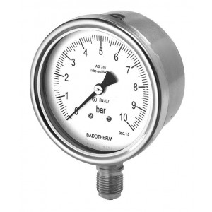 Pressure Gauge/ Thermometer